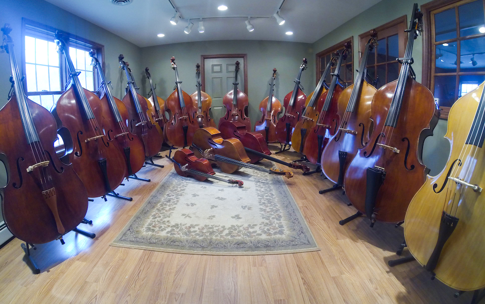 Bass Showroom Wide Angle