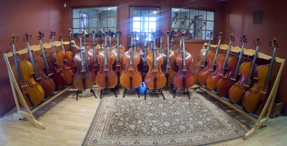 Cello Showroom Wide Angle