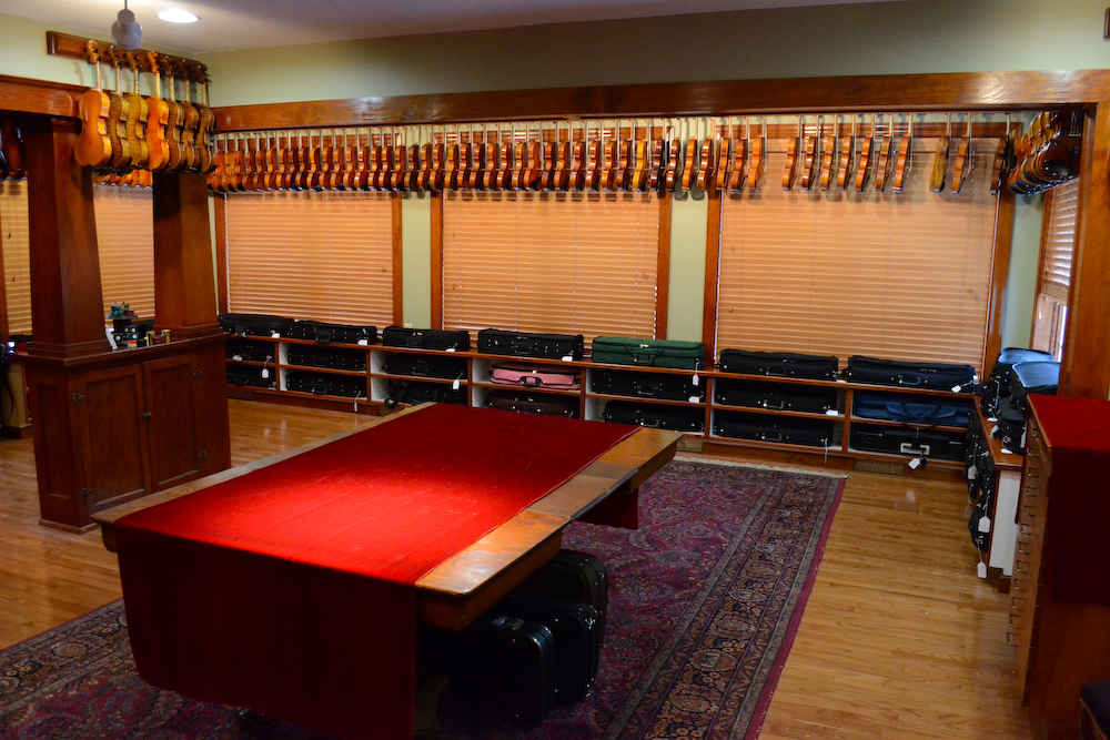 Violin Showroom